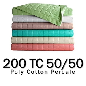 200TC Round Coverlet