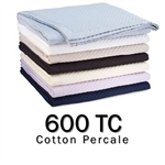 600TC Round Coverlet