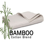 Bamboo Round Coverlet