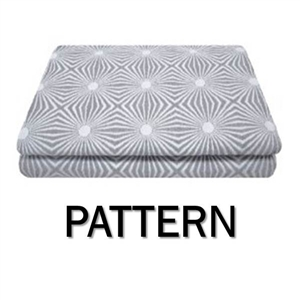 Pattern Round Coverlet
