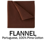 Flannel Round Coverlet