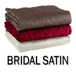 (CRANIUM) Furniture, Inc. – Bridal Satin Round Bed-Cap