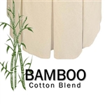 Bamboo Round Bedskirt