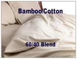 Bamboo/Cotton Blend Round Duvet Cover