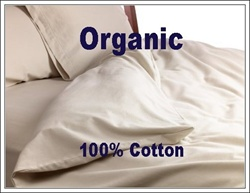 100% Organic Cotton Round Duvet Cover