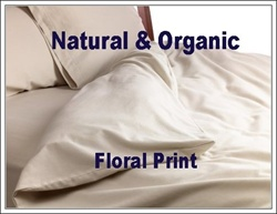 Natural & Organic Floral Round Duvet Cover