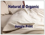 Natural & Organic Jungle Print Round Duvet Cover