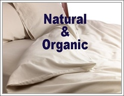 Natural & Organic Solid Print Round Duvet Cover