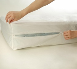 Evette Stretch Knit Dust Mite + Allergy Round Mattress Encasement
