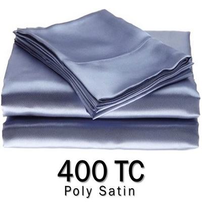 Poly Satin Round Sheet Set