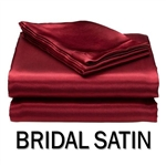 Bridal Satin Round Sheet Set