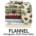 Flannel Round Sheet Set