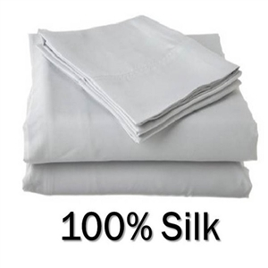 Silk Round Bed Sheet Set