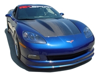 C6 Corvette Carbon Fiber Supercharger Hood