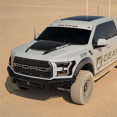 2017-19 Ford Raptor Ram Air Hood CF Blister