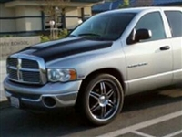 RKSport Dodge Ram Forced Air Hood