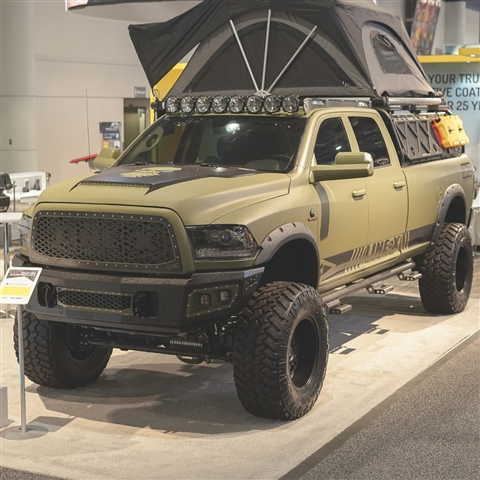 RKSport Dodge Ram HD Striker Hood