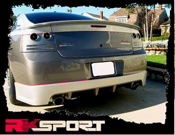 05-10 Charger Heritage Edition Rear Valance