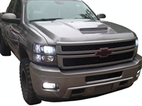 07-10 Silverado HD Ram-Air/Extractor Hood