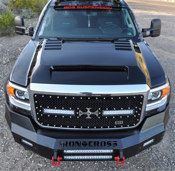 2015 - 2018 GMC Sierra HD Ram Air Hood