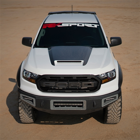 2019-Up Ford Ranger V1 CF Blister Ram Air Hood