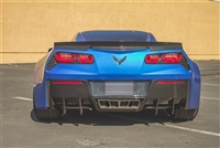 Chevrolet Stingray C7 Rear Diffuser