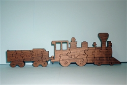 Texas & Pacific Train Puzzle