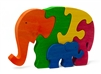 Elephant with Baby Puzzle
