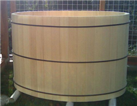 Alaskan Yellow Cedar Oval Tub