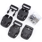 Replacement Kit Side Release Buckle (Set Of 4)