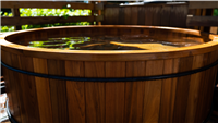 Teak Tub Capping