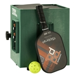 The Pickleball Tutor Mini comes in oscillating or non-oscillating models.