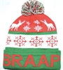 BRAAP UGLY CHRISTMAS SWEATER BEANIE
