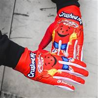 Cherry Red Crushed Gloves PRE-ORDER