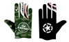 Military Camo Shark Teeth Crushed Gloves PRE ORDER