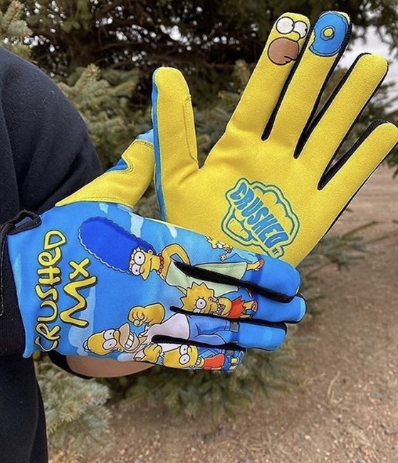 Homers Family Crushed Gloves PRE ORDER