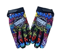 PRE-ORDER ONLY Braap Graffiti Crushed Gloves