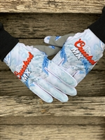 Red White And Blue Mountains CRUSHED GLOVES PRE-ORDER