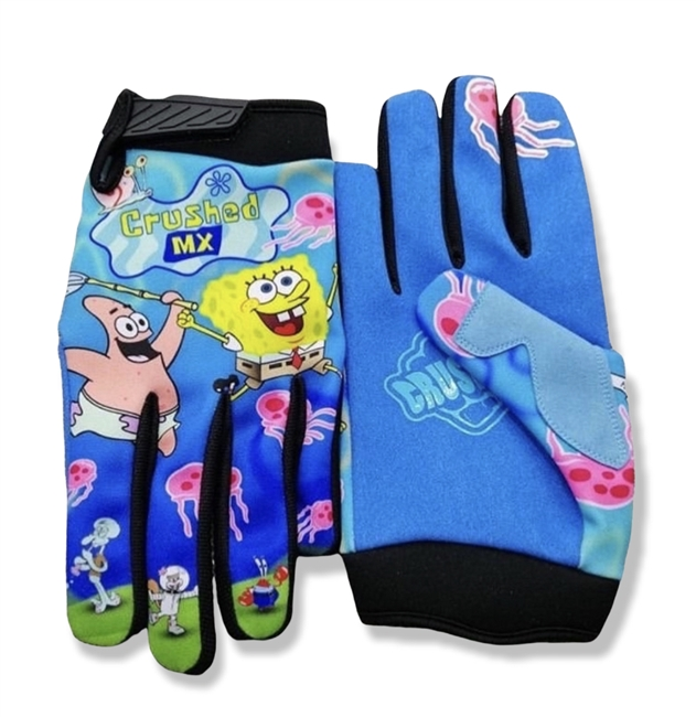 PRE-ORDER SQUARE PANTS CRUSHED GLOVES