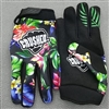 Blue Floral Crushed Gloves PRE ORDER