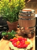 2 Liter Oak Vinegar Barrel - Toasted
