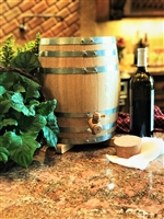 10L Oak Vinegar Barrel - Un-Toasted