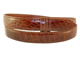 Hand made Alligator belts 1 /& 3//16 inch to be used for Compression Buckles