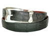 "Crocodile Belt 1 3/16"" with Malibu Buckle Set"