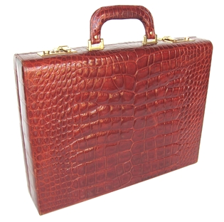 Alligator Attache Briefcase