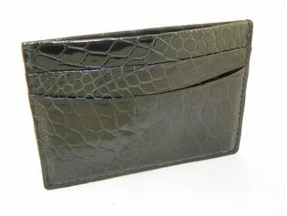 Alligator Flat Card Case