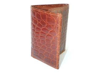 Alligator Tri-Fold Wallet