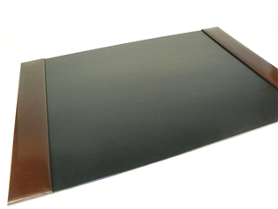 Italian Kid Leather Desk Pad - Traditional Small 20x15