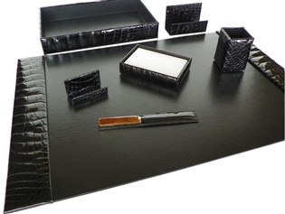 Alligator 7-Piece Desk Set