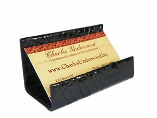 Alligator Business Card Stand